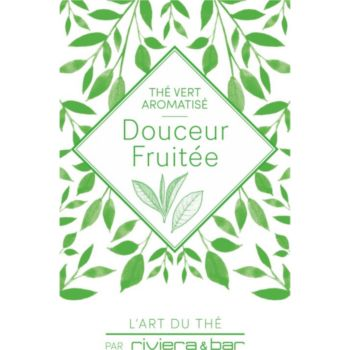 Riviera Et Bar THE VERT DOUCEUR FRUITEE 100G