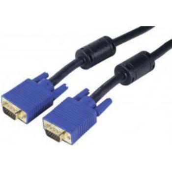 Conecticplus Câble VGA 5m noir or