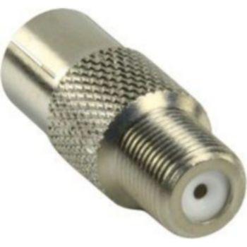 Conecticplus Adaptateur antenne type F femelle femell