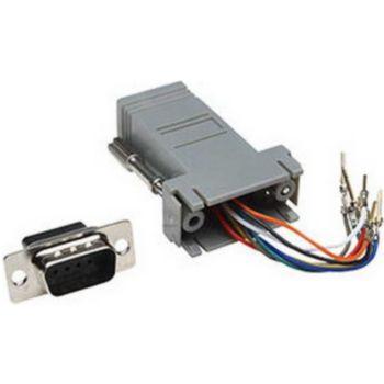 Conecticplus Adaptateur RJ45 DB9 mâle