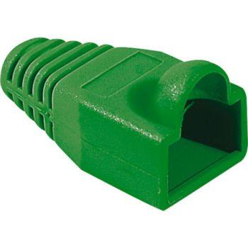 Conecticplus Manchon RJ45 6mm vert (sachet de 10)
