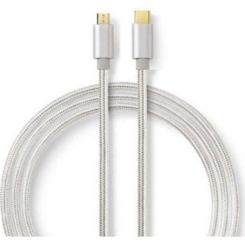 Conecticplus Câble USB type C-micro USB B nylo
