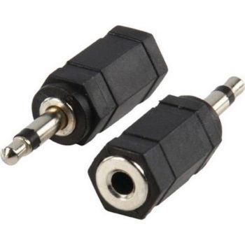 Conecticplus Adaptateur Jack 2.5 mâle Jack 3.5 feme