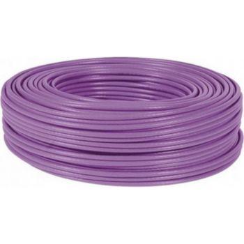 Conecticplus Bobine de câble RJ45 CAT 6a monobrin FTP