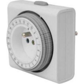 Conecticplus Minuteur électrique programmable sur 24H