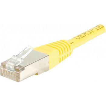Conecticplus Câble RJ45 CAT6 3m FTP jaune