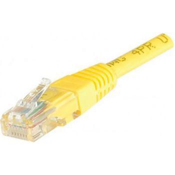 Conecticplus Câble RJ45 1m UTP CAT 5e jaune