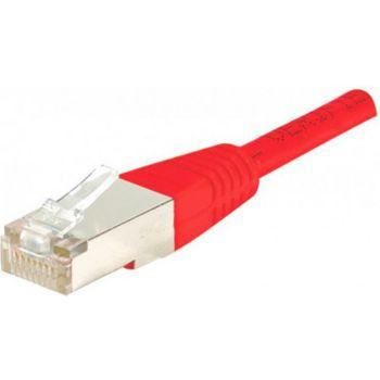 Conecticplus Câble RJ45 CAT6 1m FTP rouge