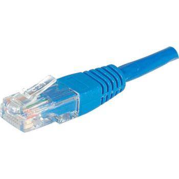 Conecticplus Câble RJ45 CAT6 0.30m UTP bleu
