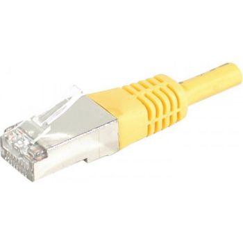Conecticplus Câble RJ45 CAT6 0.30m SFTP jaune