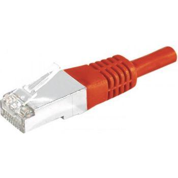 Conecticplus Câble RJ45 CAT6a 2m SFTP rouge