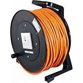 Câble Ethernet Dexlan Enrouleur de câble RJ45 CAT6a monobrin S