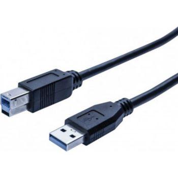 Conecticplus Câble USB 3.0 imprimante noir 0.50m