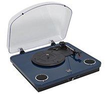 Platine vinyle Dual DL-P10 laquée Bleu nuit
