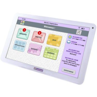 Tablette senior Cdip FACILOTAB 32Go 10.1 Blanc