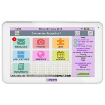 Cdip FACILOTAB L 10.1 32Go Wifi 3G Blanc