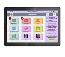 Tablette senior Cdip  FACILOTAB L Rubis 10.1 32Go