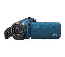 Caméscope JVC  GZ-R495 Bleu + SD 16Go