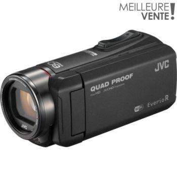 JVC GZ-RX605 Noir + Etui + SD 16Go