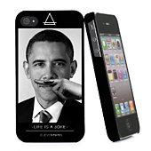 Coque Eleven Paris iPhone 4S Obama  Life is a Joke