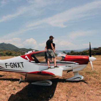 Smartbox Vol en avion privé au-dessus des château
