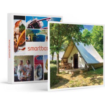 Smartbox Séjour d'1 nuit en tente trappeur avec p