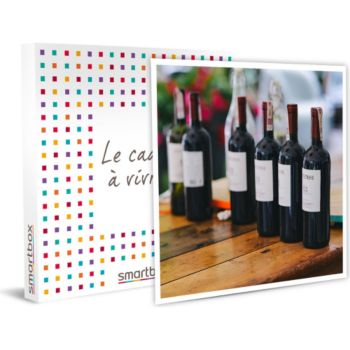 Smartbox Dégustation privée de vins et fromages d