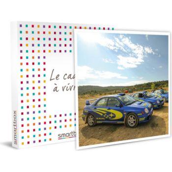 Smartbox Pilotage rallye 12 tours avec la Mini Co