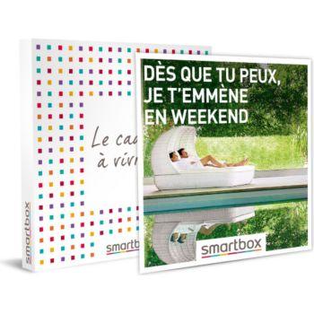 Smartbox Dès que tu peux, je t'emmène en weekend
