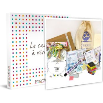 Smartbox Box Trio : Pixel Art, tressage Kumihimo
