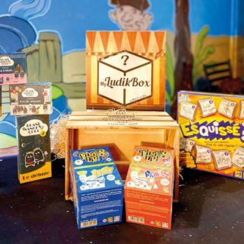 Smartbox Box surprise de jeux de société à thème