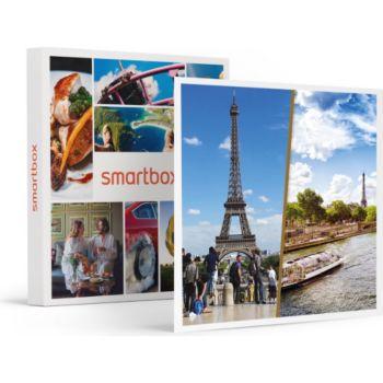 Smartbox Croisière d'1h sur la Seine et visite gu