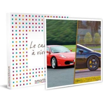 Smartbox Sessions de pilotage en Ferrari et en La