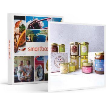 Smartbox Assortiment de 10 pâtes à tartiner artis