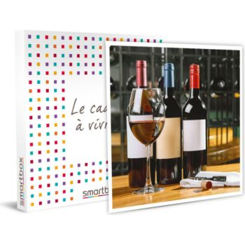 Smartbox Sélection de vins à découvrir chez soi