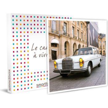 Smartbox Balade romantique en Mercedes dans Paris