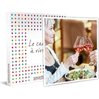 Smartbox Dîner gourmand avec vin pour une maman p