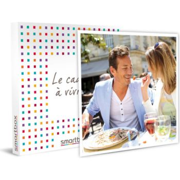 Smartbox Dîner gastronomique Menu 3 Plats pour co
