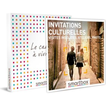 Smartbox Invitations culturelles visites insolite