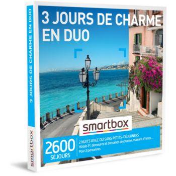 Smartbox 3 jours de charme en duo