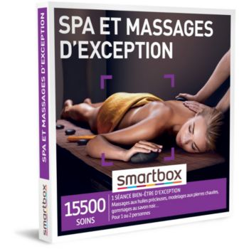 Smartbox Spa et massages d'exception