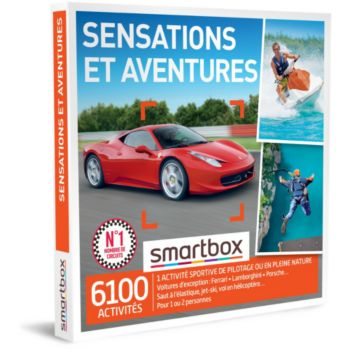 Smartbox Sensations et aventures