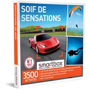 Smartbox Soif de sensations