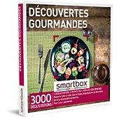 Coffret cadeau Smartbox Découvertes gourmandes