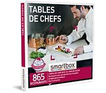 Coffret cadeau Smartbox  Tables de chefs