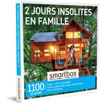 Smartbox 2 jours insolites en famille