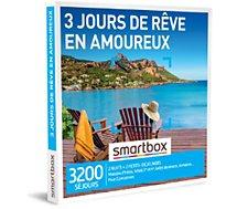 Coffret cadeau Smartbox  3 jours de rêve en amoureux