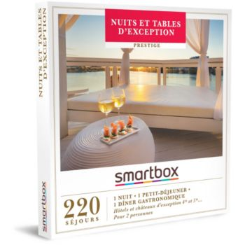 Smartbox Nuits et tables d'exception