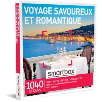 Smartbox Voyage savoureux et romantique