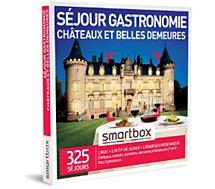 Coffret cadeau Smartbox  Séjour gastronomie châteaux et belles de